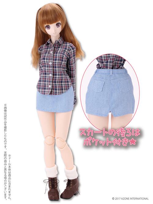 AZONE/50 Collection/FAO079【48/50cmドール用】AZO2チェックシャツ