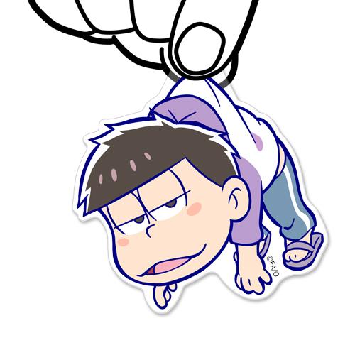 おそ松さん/おそ松さん/一松アクリルつままれストラップ