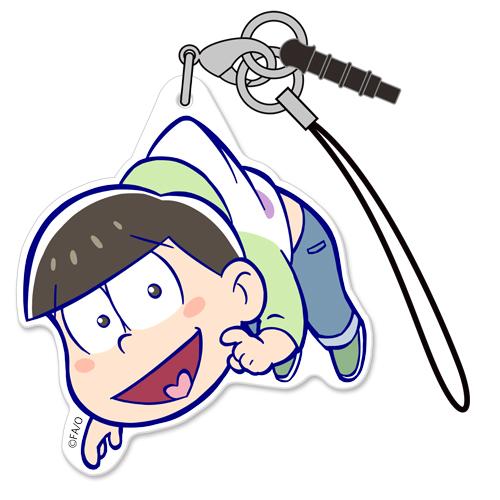 チョロ松アクリルつままれストラップ おそ松さん キャラクターグッズ販売のジーストア Gee Store