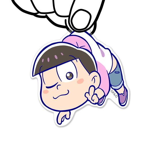おそ松さん/おそ松さん/トド松アクリルつままれキーホルダー