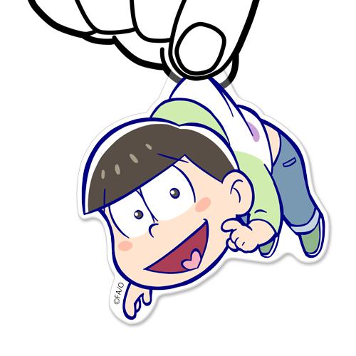 おそ松さん/おそ松さん/チョロ松アクリルつままれキーホルダー