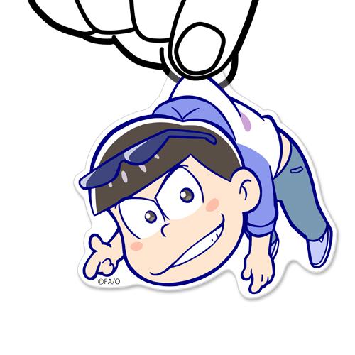 おそ松さん/おそ松さん/カラ松アクリルつままれキーホルダー