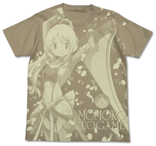 魔法少女まどか☆マギカ/マギアレコード 魔法少女まどか☆マギカ外伝/十咎ももこオールプリントTシャツ