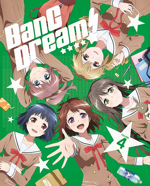 BanG Dream!(バンドリ!)/BanG Dream!(バンドリ!)/★GEE!特典付★BanG Dream! Vol.4【Blu-ray】