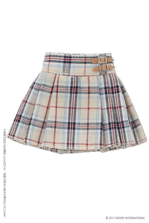 AZONE/Pureneemo Original Costume/ALB189【1/6サイズドール用】PNXSプレッピープリーツスカート