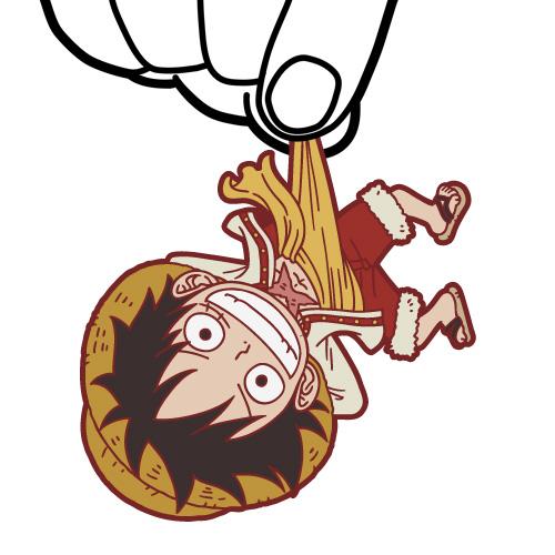 ONE PIECE/ワンピース/「JF限定 サンジつままれキーホルダー」つき ルフィ&ゾロ つままれキーホルダーセット