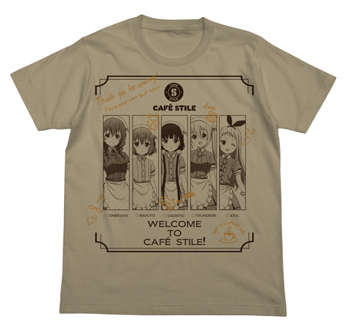 ブレンド・S/ブレンド・S/スティーレヒロイン メニューTシャツ