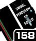 ペンデュラム手帳型スマホケース 158