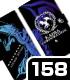 ブルーアイズ・ホワイト・ドラゴン手帳型スマホケース158