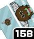 遊☆戯☆王 シリーズ/遊☆戯☆王デュエルモンスターズGX/ハネクリボー手帳型スマホケース158