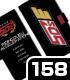 チーム5D's手帳型スマホケース158