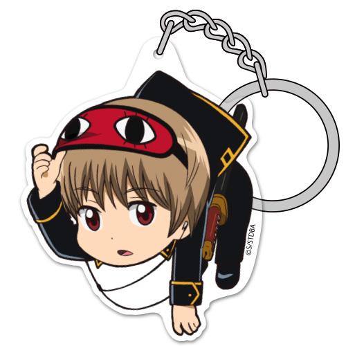 銀魂/銀魂/沖田総悟アクリルつままれキーホルダー