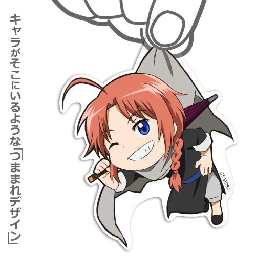 銀魂/銀魂/神威アクリルつままれキーホルダー
