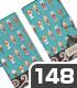 銀さんと糖分 手帳型スマホケース148