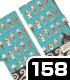 銀さんと糖分 手帳型スマホケース158