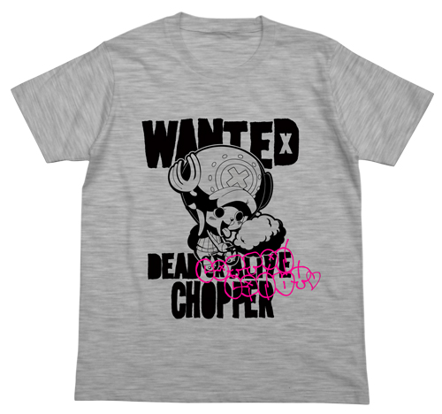 ONE PIECE/ワンピース/チョッパーWANTED Tシャツ