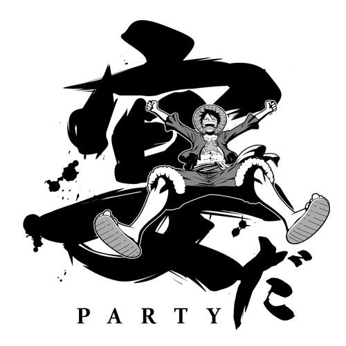ONE PIECE/ワンピース/ルフィの宴Tシャツ