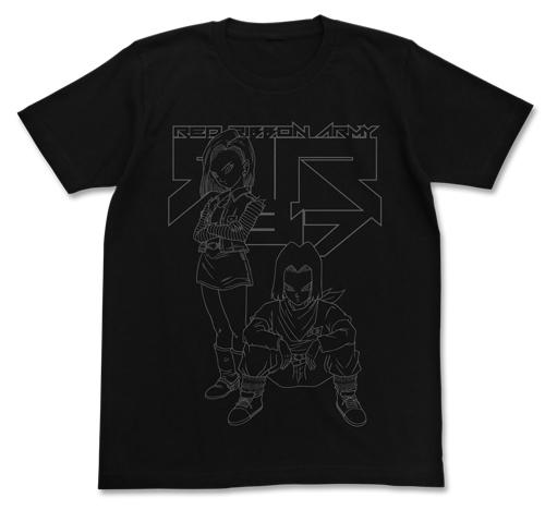 ドラゴンボール/ドラゴンボールZ/人造人間17号&18号Tシャツ