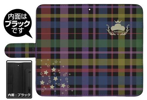 おそ松さん/おそ松さん/おそ松さんチェック柄 手帳型スマホケース 138