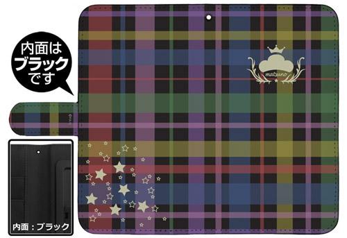 おそ松さん/おそ松さん/おそ松さんチェック柄 手帳型スマホケース 158