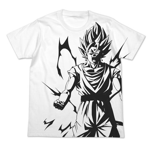 ドラゴンボール/ドラゴンボールZ/ベジット オールプリントTシャツ