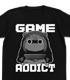 ゲーム中毒うまるTシャツ