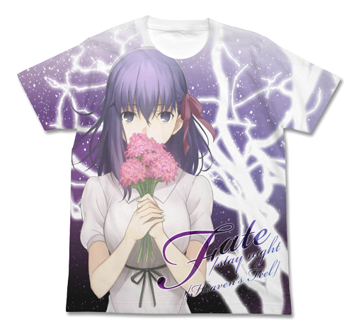Fate/劇場版「Fate/stay night [Heaven's Feel]」/間桐桜フルグラフィックTシャツ
