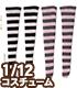 PIC191-ASA【1/12サイズドール用】1/12 ボーダーソックスAセット