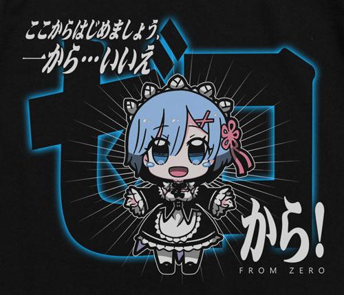 Re:ゼロから始める異世界生活/Re:ゼロから始める異世界生活/レム ゼロからTシャツ