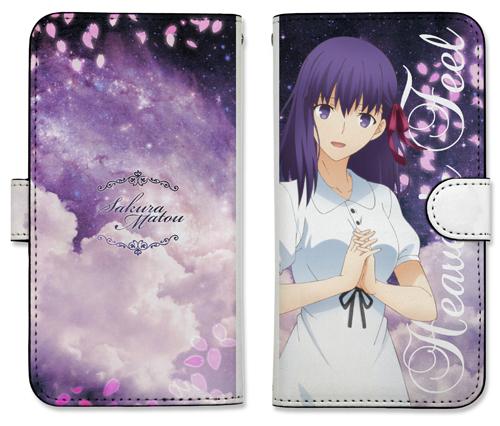 Fate/Fate/stay night[Heaven's Feel]/間桐桜 手帳型スマホケース138
