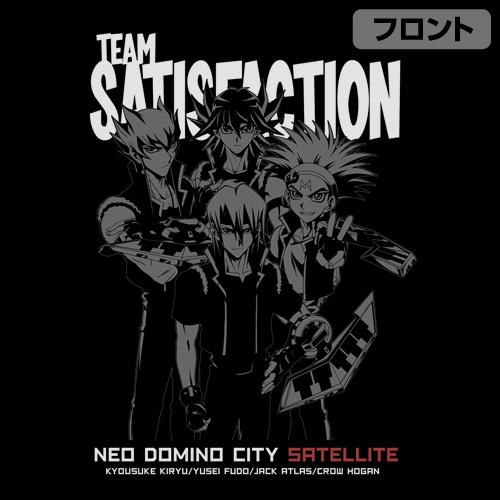 遊☆戯☆王/遊☆戯☆王5D's/チームサティスファクションTシャツ