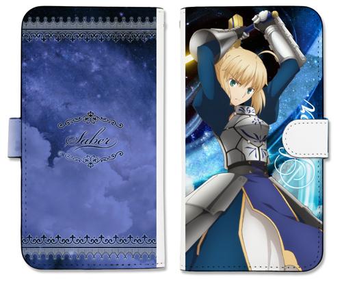 Fate/Fate/stay night[Heaven's Feel]/セイバー手帳型スマホケース158