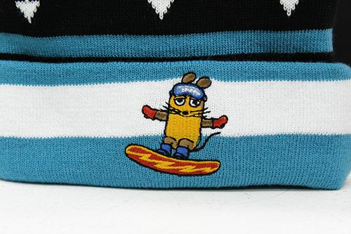 MAUS/MAUS(TM)/Maus ニット帽 マウス スノーボード