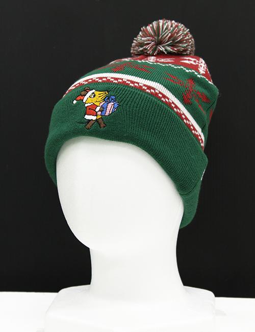 MAUS/MAUS(TM)/Maus ニット帽 マウス サンタ
