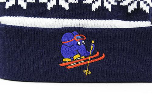 MAUS/MAUS(TM)/Maus ニット帽 エレファント スキー