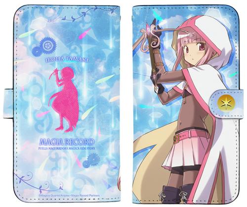 魔法少女まどか☆マギカ/マギアレコード 魔法少女まどか☆マギカ外伝/環いろは 手帳型スマホケース158