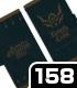 騎士の聖印 手帳型スマホケース158