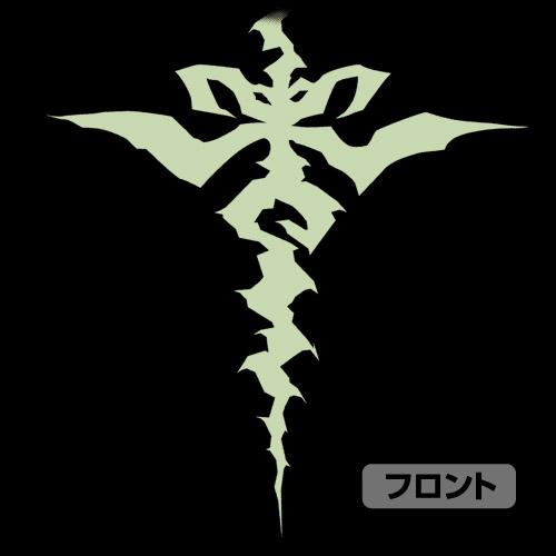 Fate/Fate/Apocrypha/黒のセイバー紋様 プルオーバーパーカー