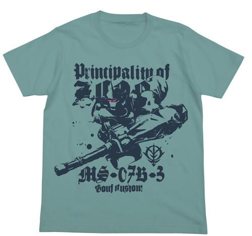 ガンダム/機動戦士ガンダム第08MS小隊/グフカスタム Tシャツ