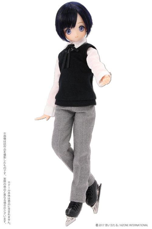 AZONE/Pureneemo Original Costume/AKT132【1/6サイズドール用】フィギュアスケート靴