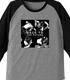 KUSHIDA「BTTF」ラグラン七分袖Tシャツ