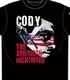 Cody×BULLET CLUB「REVOLVER」Tシャツ