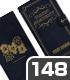 QMA マジックアカデミー手帳型スマホケース148