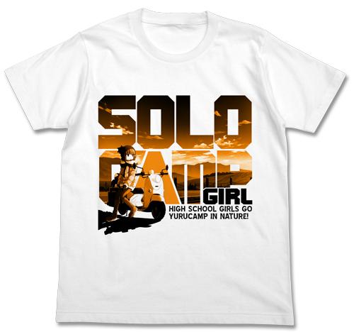 ゆるキャン△/ゆるキャン△/ソロキャンガール Tシャツ