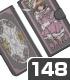 クリアカード編さくら 手帳型スマホケース148