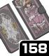 クリアカード編さくら 手帳型スマホケース158