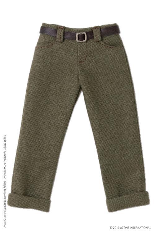 AZONE/Pureneemo Original Costume/POC436【1/6サイズドール用】PNS 男の子ローライズクロップドパンツ