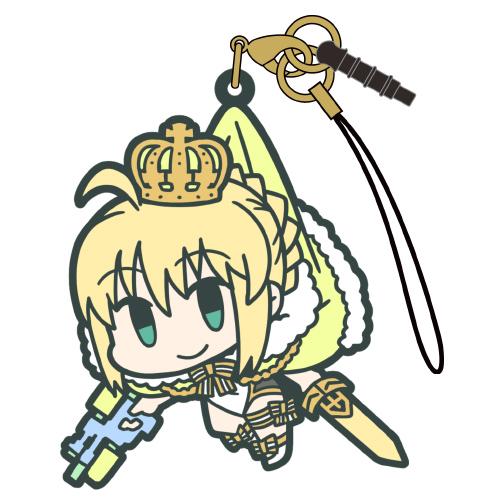 Fate/Fate/Grand Order/アーチャー:アルトリア・ペンドラゴン つままれストラップ