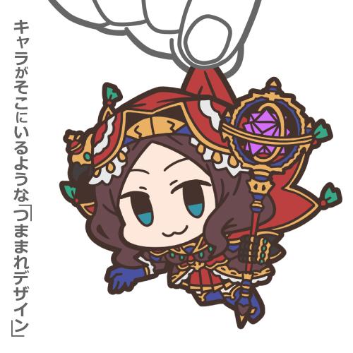 Fate/Fate/Grand Order/キャスター:レオナルド・ダ・ヴィンチ つままれストラップ