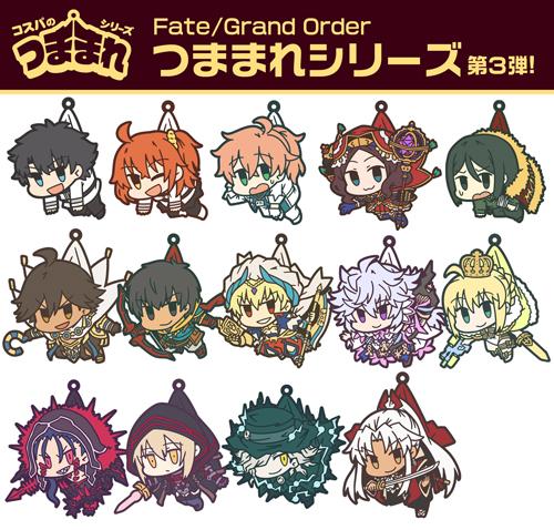 Fate/Fate/Grand Order/キャスター:マーリン つままれストラップ